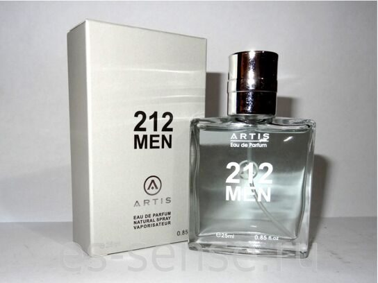 Artis 25ml 212 men new design