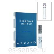 AZZARO CHROME UNITED men 1.5ml edt sample