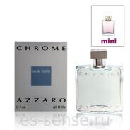 AZZARO CHROME men 7ml edt mini